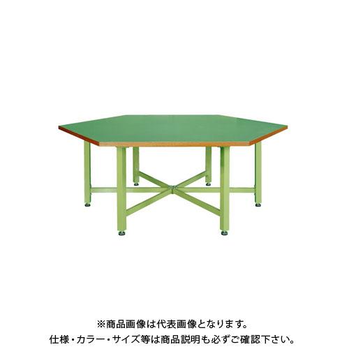 【直送品】サカエ 六角形作業台・中量STWタイプ SWT-24