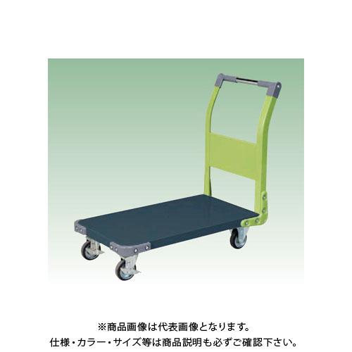 【直送品】サカエ 特製四輪車(ツートン) TAN-22DG