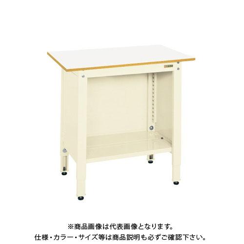 【予約販売】本 TCP-096IV:KanamonoYaSan KYS 【直送品】サカエ  一人用作業台・高さ調整タイプ-DIY・工具