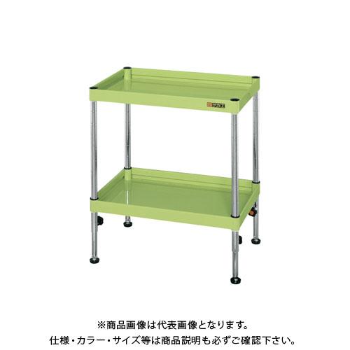 【直送品】サカエ ニューCSパールワゴン固定タイプ(高さ調整) TCSPN-907