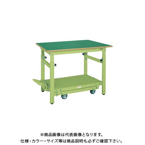 【直送品】サカエ ペダル昇降移動式作業台・軽量TKKタイプ TKK-187FPD