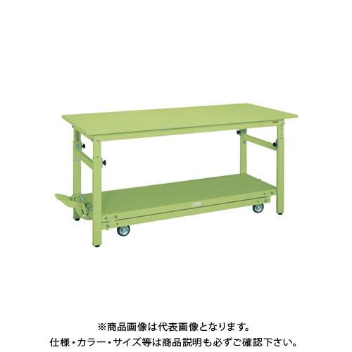 【直送品】サカエ ペダル昇降移動式作業台・軽量TKKタイプ TKK-187SPD