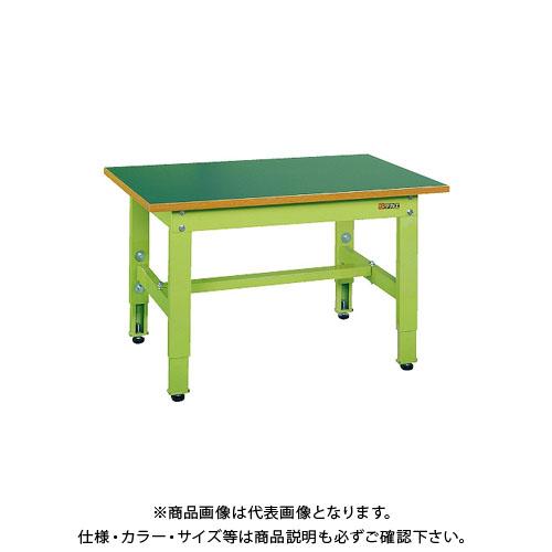 【直送品】サカエ 低床用軽量高さ調整作業台TKK4タイプ TKK4-156F