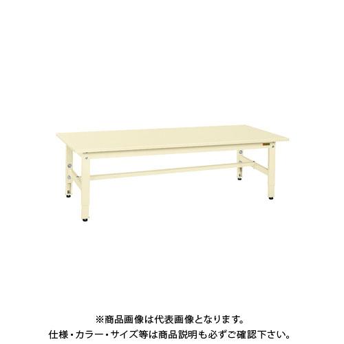 【直送品】サカエ 低床用軽量高さ調整作業台TKK4タイプ TKK4-187SI