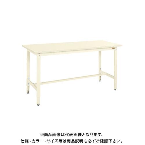 【直送品】サカエ 軽量高さ調整作業台TKK8タイプ(スチールカブセ天板) TKK8-187HCI