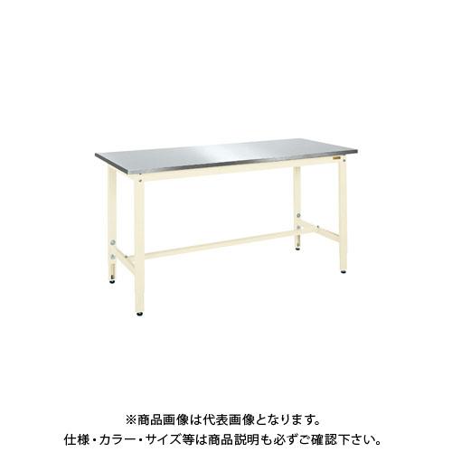 【直送品】サカエ 軽量高さ調整作業台TKK8タイプ(ステンレス天板仕様) TKK8-189SU3NI