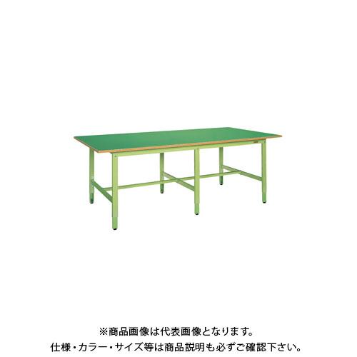 【直送品】サカエ 大型高さ調整作業台・軽量TKKタイプ TKKF-2412