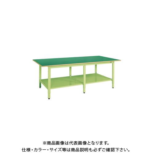 【直送品】サカエ 大型高さ調整作業台・軽量TKKタイプ TKKF-2412T
