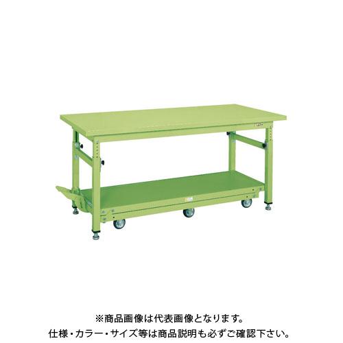 【直送品】サカエ ペダル昇降移動式作業台・軽量TKKタイプ TKW-188Q6SD