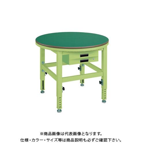 【直送品】サカエ 回転作業台高さ調整タイプ TRT-900FB