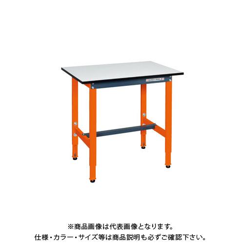【直送品】サカエ 軽量高さ調整作業台 TSEL-0960PDOR