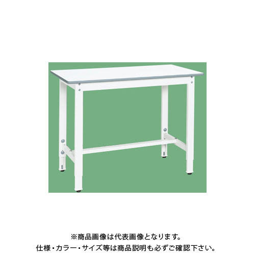 【直送品】サカエ 抗菌・抗ウイルス天板作業台 TVT8-126W