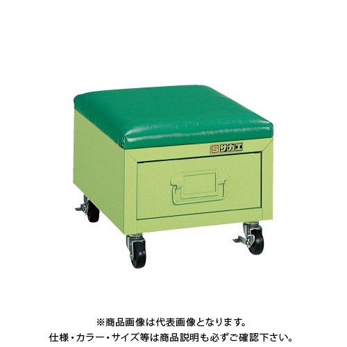 【直送品】サカエ ワークチェアー・シットボックス USB-1