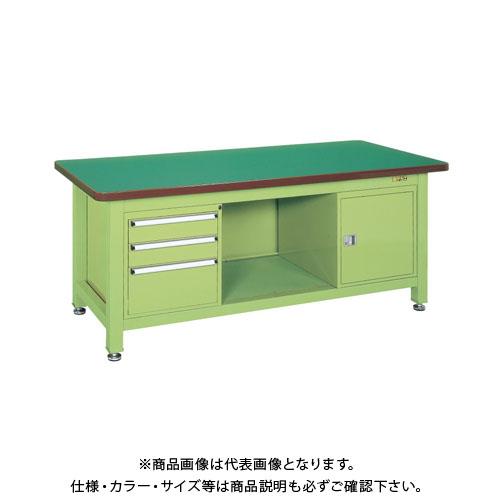 【直送品】サカエ 超重量作業台Wタイプ WF-893F0B