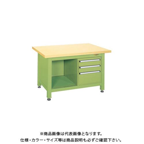 【直送品】サカエ 超重量作業台Wタイプ WG-2F3B