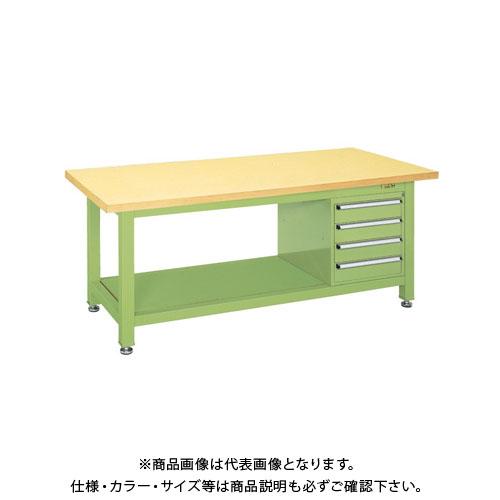 【直送品】サカエ 超重量作業台Wタイプ WG-894