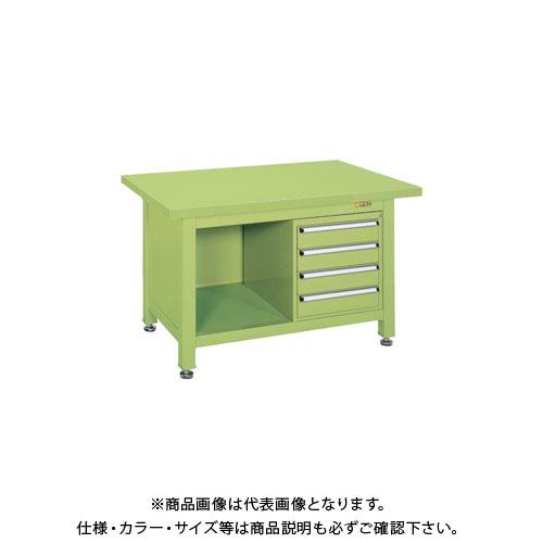 【直送品】サカエ 超重量作業台Wタイプ WS-2F4B