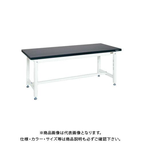 【直送品】サカエ SAKAE 実験用作業台 1800×750×715 ホワイト KFT-1875