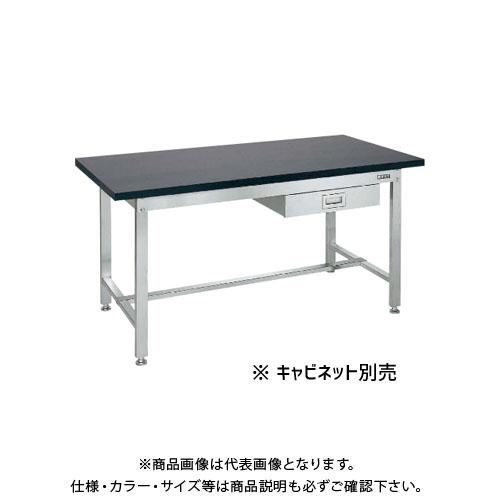 【直送品】サカエ SAKAE サイド実験台 1500×750×740 ダークグレー SUS-157TS