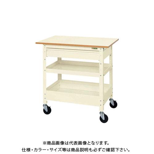 【直送品】サカエ SAKAE ニューCSスペシャルワゴン深型タイプ 750×500×900 アイボリー CSSA-608SCTI