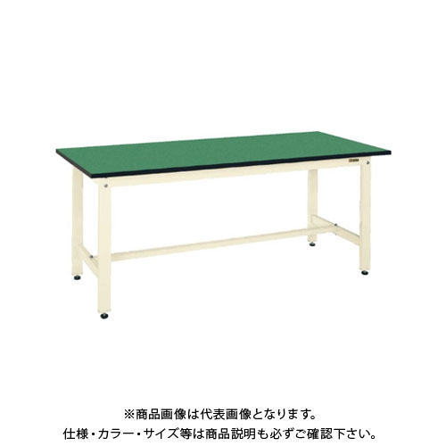 【直送品】サカエ SAKAE 軽量作業台KKタイプ(改正RoHS10物質対応) 組立式 900×750×740 アイボリー KK-39FEI