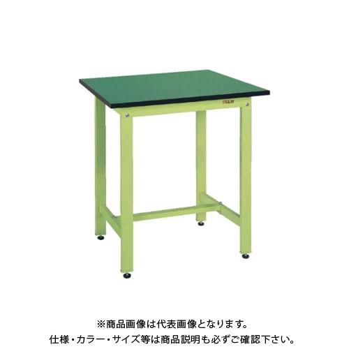 【直送品】サカエ SAKAE 軽量立作業台KDタイプ(改正RoHS10物質対応) 組立式 900×750×900 アイボリー KD-39FEI