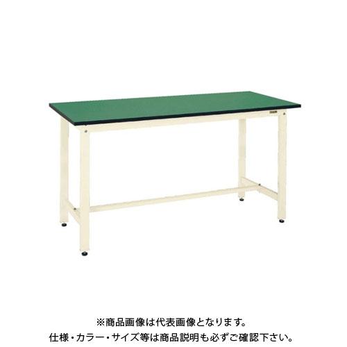 【直送品】サカエ SAKAE 軽量立作業台KDタイプ(改正RoHS10物質対応) 組立式 1800×600×900 アイボリー KD-68FEI