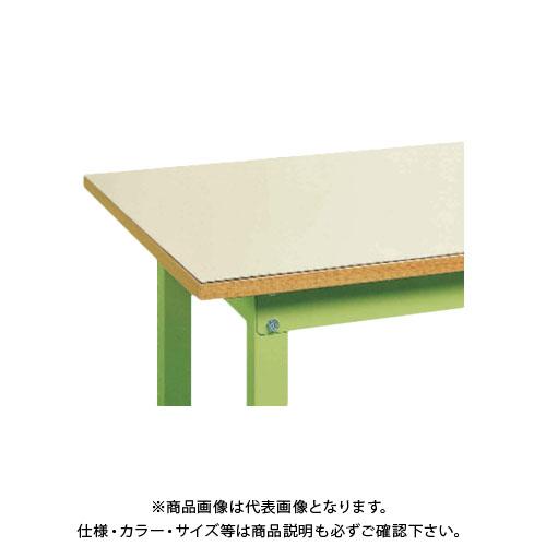 【直送品】サカエ SAKAE 作業台用改正RoHS10物質対応帯電防止マット W1500×D750 DS-157EM