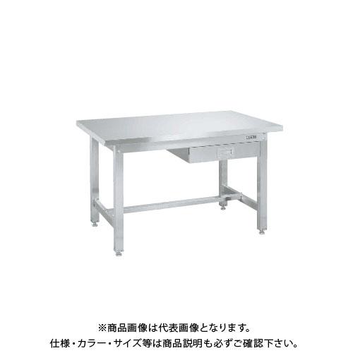 【直送品】サカエ SAKAE ステンレス作業台重量タイプ(重量タイプ・キャビネット付) 1200×600×740 SUW4-127B