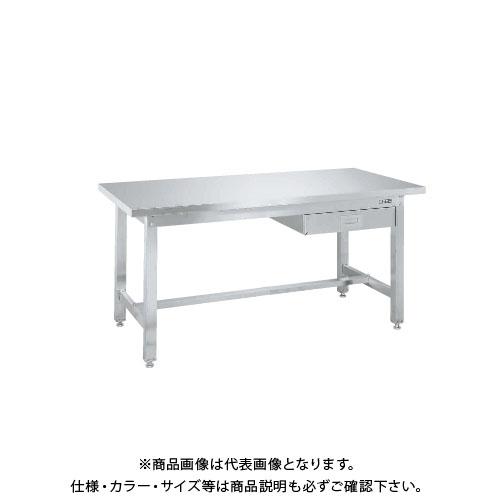 【直送品】サカエ SAKAE ステンレス作業台重量タイプ(重量タイプ・キャビネット付) 1500×750×740 SUW4-157B