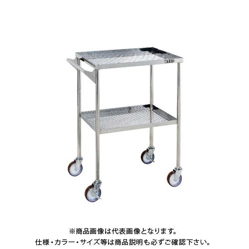 【直送品】サカエ SAKAE ステンレスCSワゴン (CSFタイプH845mm取手付) 600×450×845 CSF-FPSU