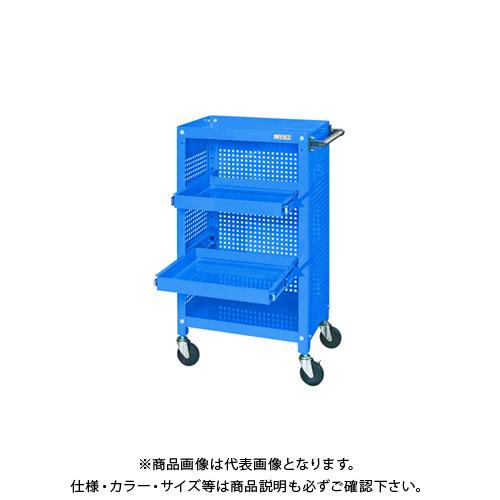 【直送品】サカエ スーパースペシャルワゴン SSW-116S2P3BL