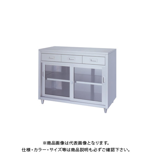 【直送品】【受注生産】シンコー ステンレス保管庫(一段式/引出付) 1200×600×950 LADG-12060