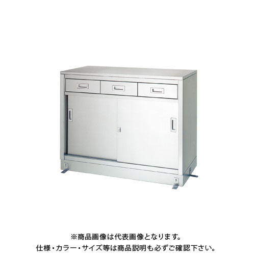 【直送品】【受注生産】シンコー ステンレス保管庫(一段式/引出付) 1800×600×950 LD-18060
