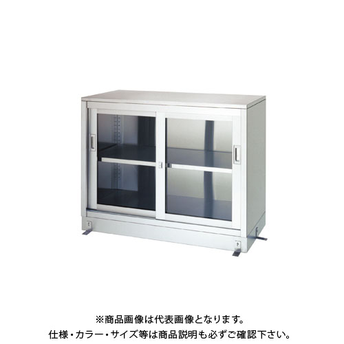 【直送品】【受注生産】シンコー ステンレス保管庫(一段式) 1200×450×950 LG-12045