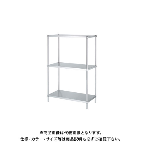 【直送品】シンコー ステンレスラック 1488×888×1800 RB3-15090