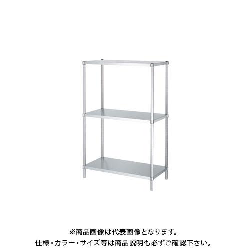 【直送品】シンコー ステンレスラック 588×438×1800 RB3-6045