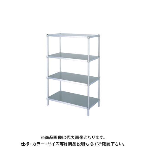 【直送品】シンコー ステンレスラック 738×438×1800 RB4-7545