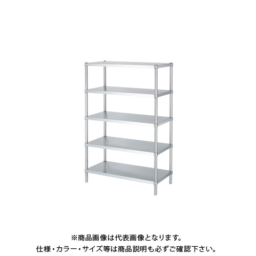 【直送品】シンコー ステンレスラック 1788×438×1800 RB5-18045