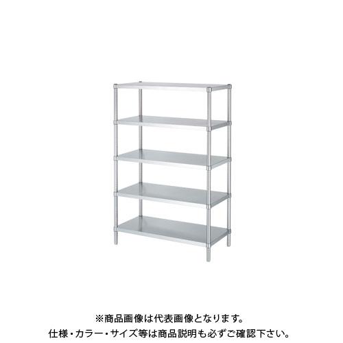 【直送品】シンコー ステンレスラック 588×438×1800 RB5-6045