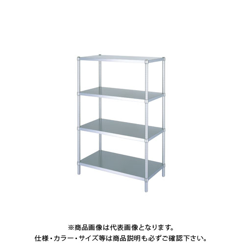 【直送品】【受注生産】シンコー ステンレスラック 738×588×1800 RBN4-7560