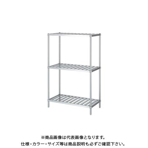 【直送品】シンコー ステンレスラック 1188×338×1800 RS3-12035