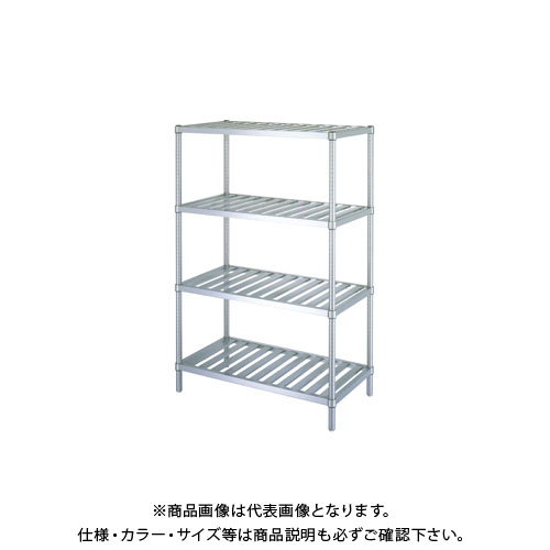 【直送品】シンコー ステンレスラック 1188×888×1800 RS4-12090