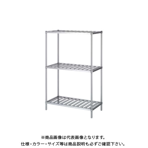 【直送品】【受注生産】シンコー ステンレスラック (スノコ棚3段) 1788×438×1800 RSN3-18045