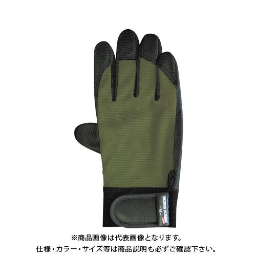 ユニワールド 合成皮革手袋 10双 オリーブ 2510OD-L