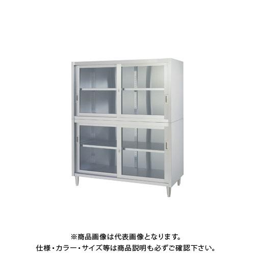 【直送品】【受注生産】シンコー ステンレス保管庫(二段式) 1800×450×1750 VAGG-18045