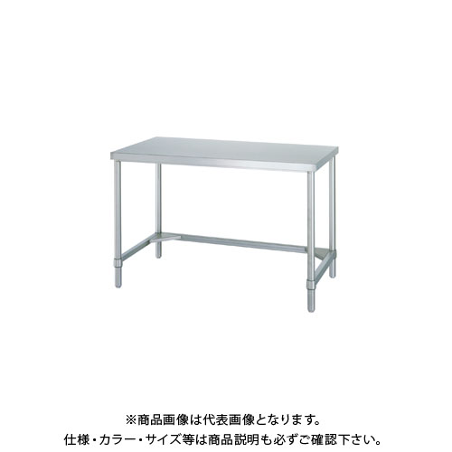 【直送品】シンコー ステンレス作業台(三方枠仕様) 1500×450×800 WT-15045
