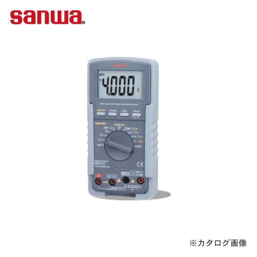 三和電気計器 SANWA 標準型デジタルマルチメータ RD701