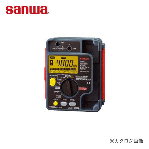三和電気計器 SANWA 絶縁抵抗計 デジタルタイプ MG500