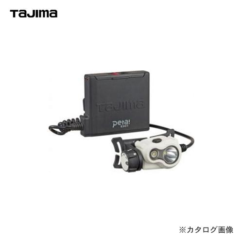 タジマツール Tajima ペタLEDヘッドライトE301 ホワイト LE-E301-W